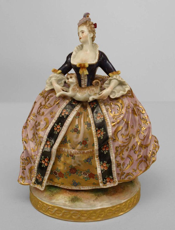 148 Best Antique Victorian Figurines Images On Pinterest