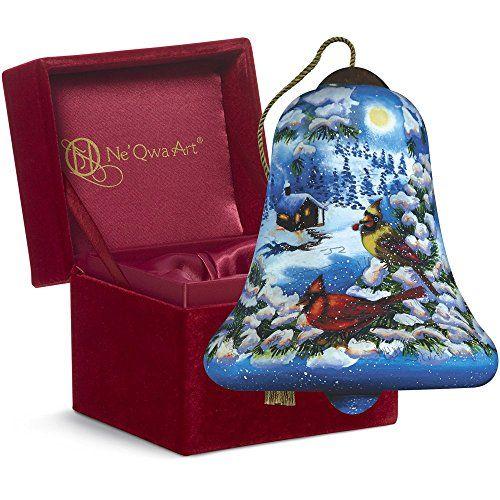 Ne'Qwa Art Christmas Gift, Dona Gelsinger Cardinal Valley, Glass