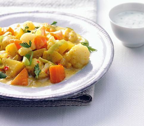 Rezept: Curry-Gemüse-Eintopf