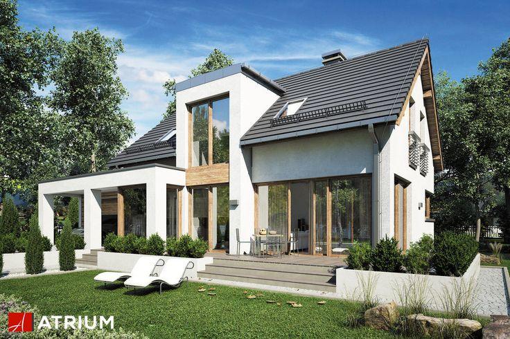 Projekt Rumba III - elewacja domu