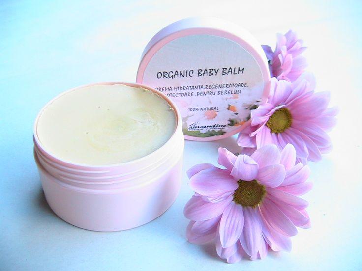 Organic Baby Balm-crema  pentru bebelusi-Lavandine