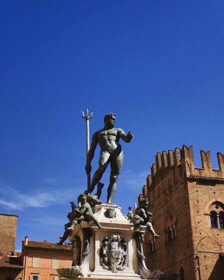 Bologna - Statua di Nettuno