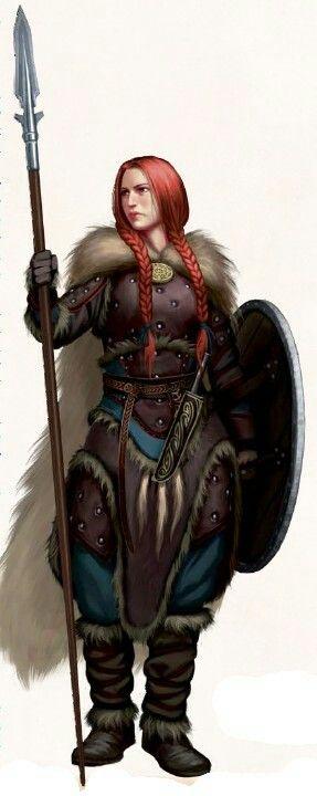 D&D Character Concept Art. #rpg #character #female