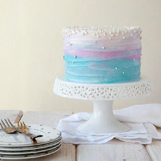 Blueberry Lavender Cake.#recipes.