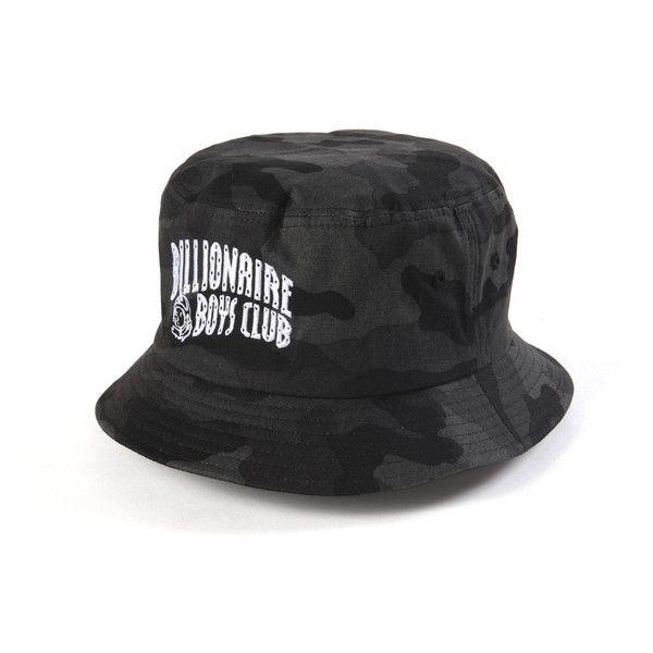 Billionaire Boys Club Arch Logo Camo Bucket Hat - Black Camo