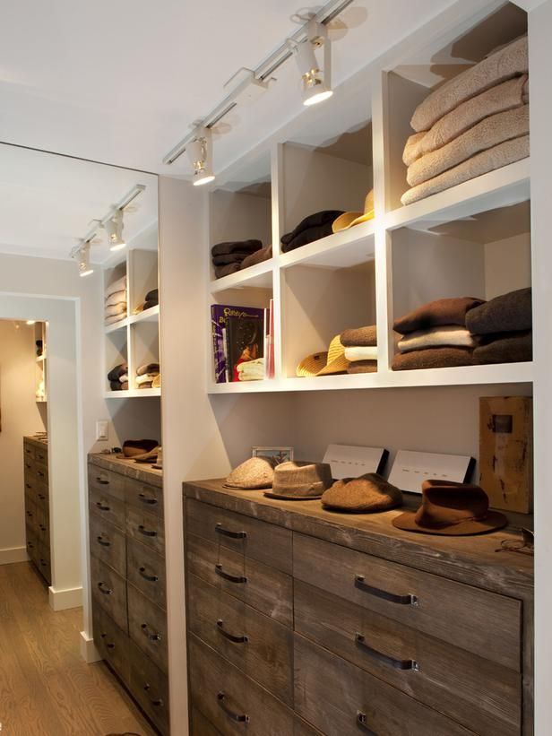 Track Lighting For Closets:
