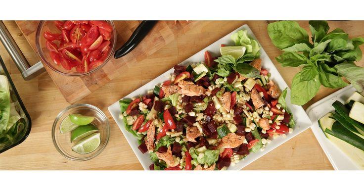 The Ivy's Grilled Vegetable Salad Recipe | POPSUGAR Food