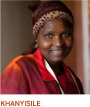 Khanyisile is Baobab Batik's senior seamstress and has been an invaluable member of the team for over 10 years ...