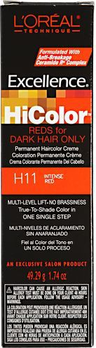 HiColor Intense Red Permanent Creme Hair Color