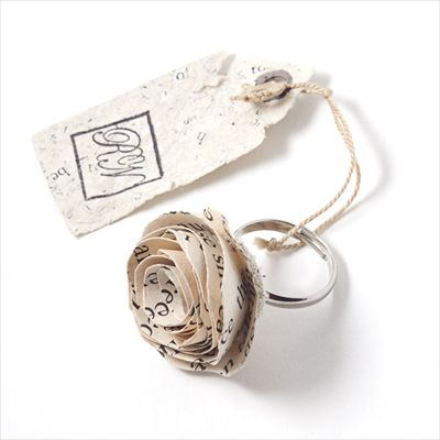 The Eva Collection - Rose Ring - paper by Rare Notions by Phiona Richards.