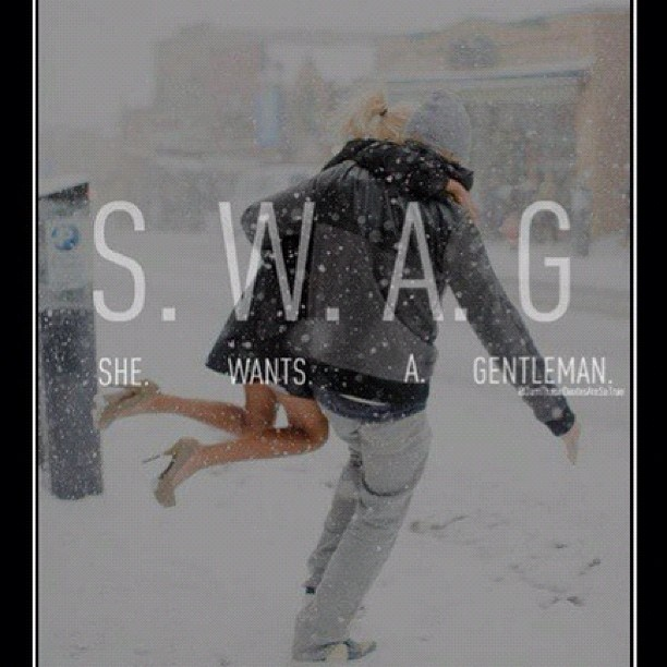The true meaning of SWAG