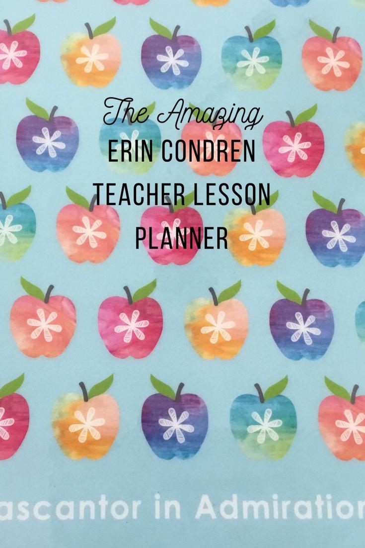 The Amazing Erin Condren Teacher Lesson Planner Teacher Lesson Planner Lesson Planner Lesson Planner Stickers