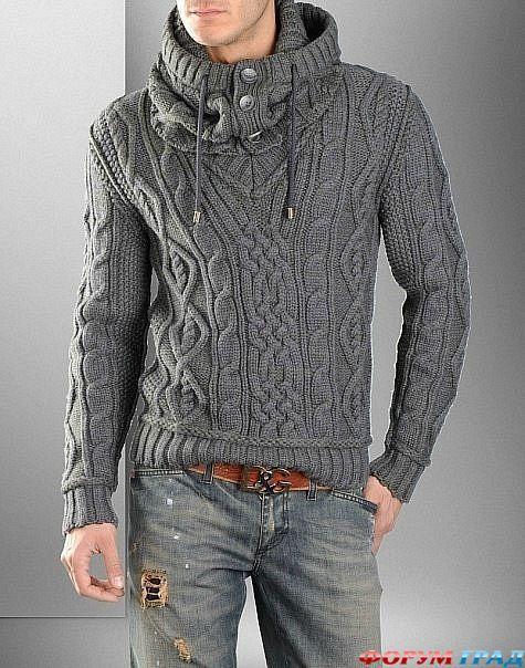 кофты для мужчин араны   Вязание для мужчин. Свитера