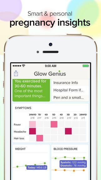 Glow nurture : il s'agit de l'œuvre d'une start-up située aux Etats-Unis mais aussi en Chine. Cette application vous propose des conseils personnalisés en fonction de votre alimentation et de votre activité physique. Mais le point à retenir, et le plus innovant, est la création d'une communauté de futures mamans, via des forums, accessibles depuis l'application.   - Mamma Fashion http://www.mammafashion.com/