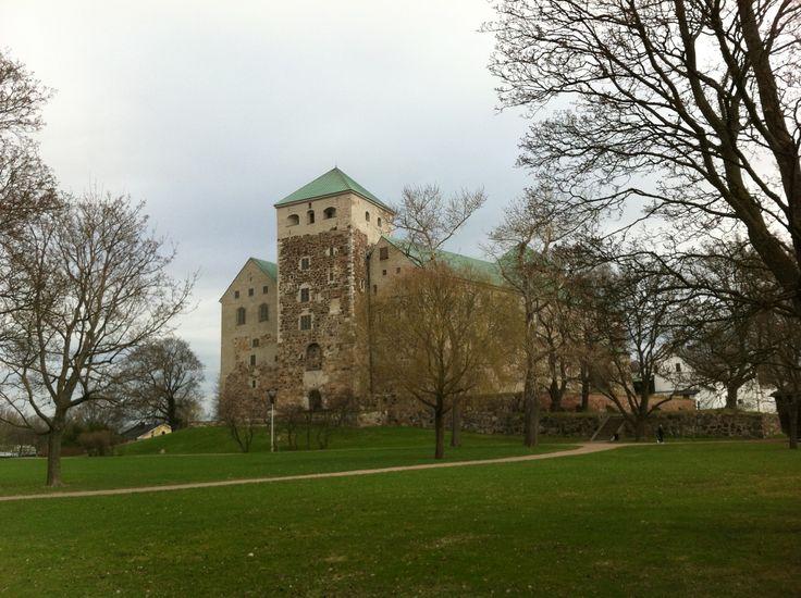 Turun linna / Åbo slott paikassa Turku, Länsi-Suomen Lääni