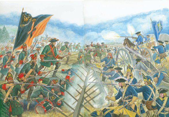 Battle of Poltava - Great Northern War