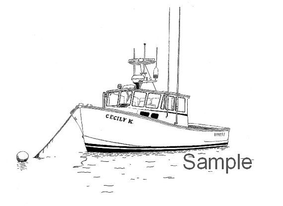 17 Best ideas about Boat Drawing on Pinterest | Simple art, Ink drawings and Ink art