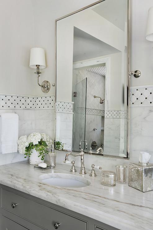 Blue Bathroom With White Mirror: Best 25+ Bathroom Vanity Mirrors Ideas On Pinterest