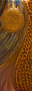 Claymoon Copper and Clay--liked their art at the Edina Art Fair