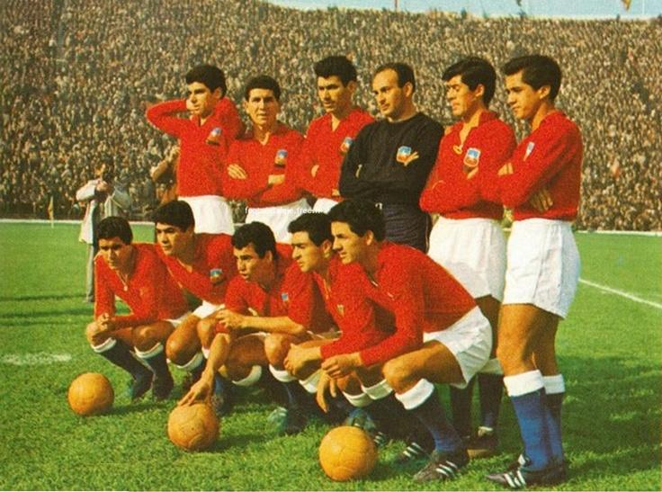 SELECCIÓN DE FÚTBOL DE CHILE, 1962.