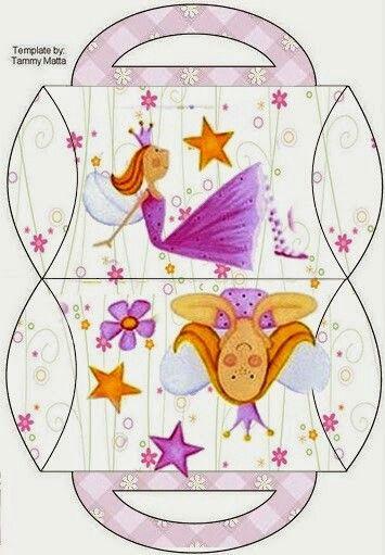 Caja almohada, princesa