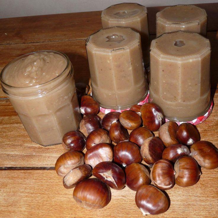 Recette Ze Crème de marrons (la vraie, la seule !) par LaFouine94 - recette de la catégorie Desserts & Confiseries