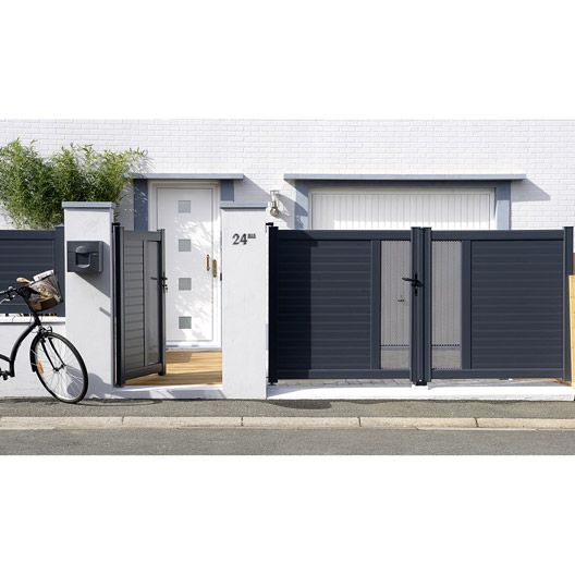 Couvre mur lisse en b ton coloris gris 5x50x28 cm for Cloture mur beton