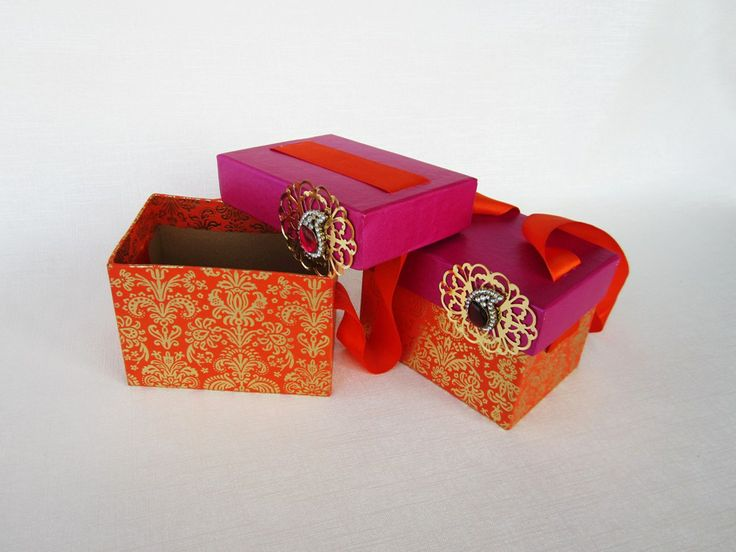 ... GIFT BOXES on Pinterest Gift wrapping, Wedding company and Wraps