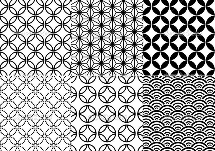 japanese geometric patterns - Google Search | Tattoos I