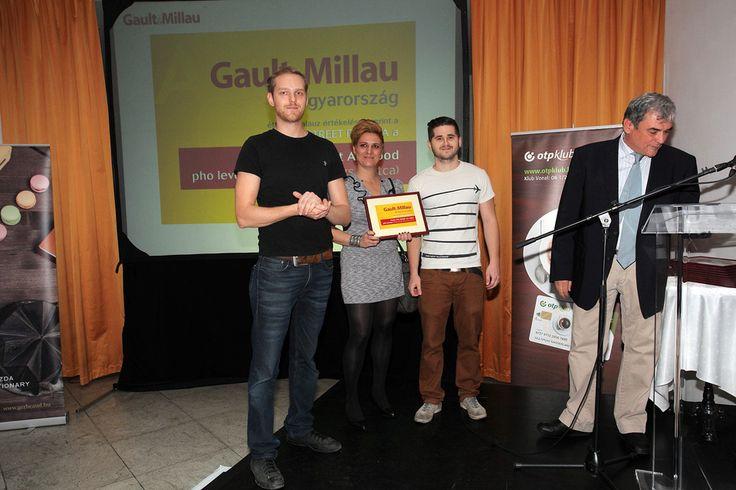 Gault&Millau díjátadó, az év street foofdja díjat nyertük el.