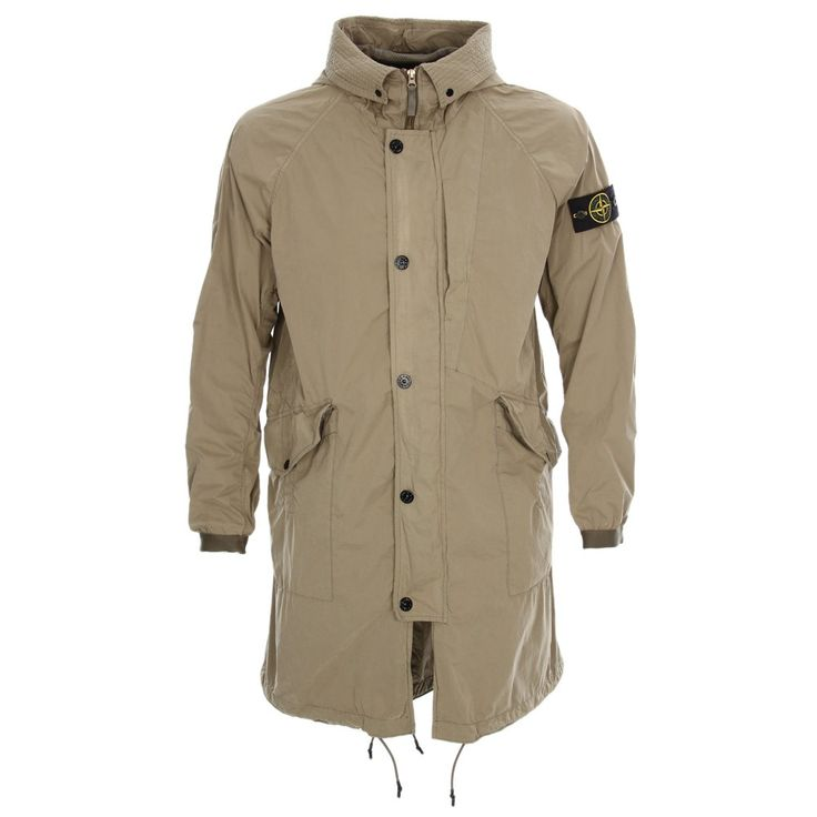 Stone Island - David Light-TC Parka - Olive - New Season Stone Island Collection now available at Aphrodite Clothing