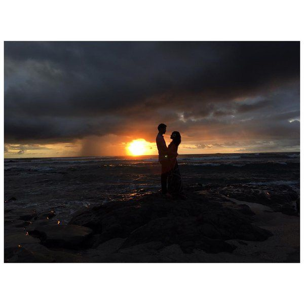 @HarryShumJr and Shelby Rabara in Costa Rica for their wedding