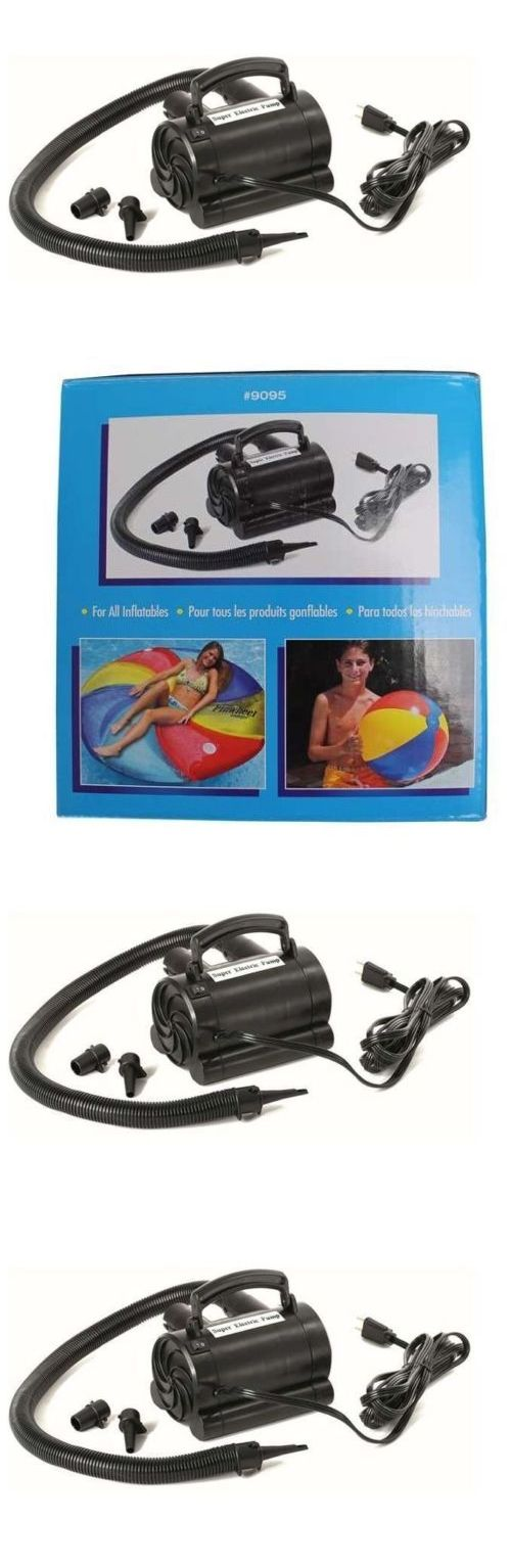 Air Bed Pumps 27912: Air Pump For Air Mattress Electric Swimming Pool Inflatables Toy Inflator 110V -> BUY IT NOW ONLY: $34.99 on eBay!