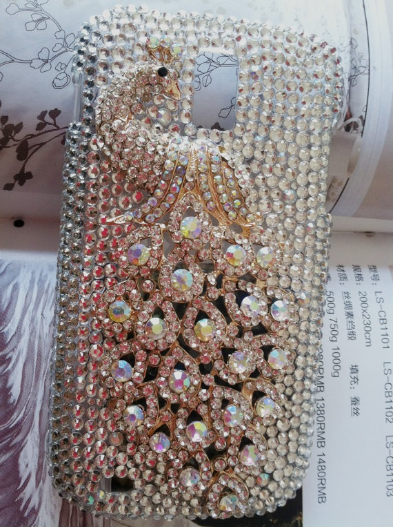 Tmobile Samsung Galaxy SII s2 T989  Fashional Bling by yescaseshop, $22.50    Getting this!! Peacock stuff is the best!