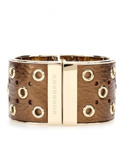 Burberry London - Leather-coated cuff - mytheresa.com GmbH