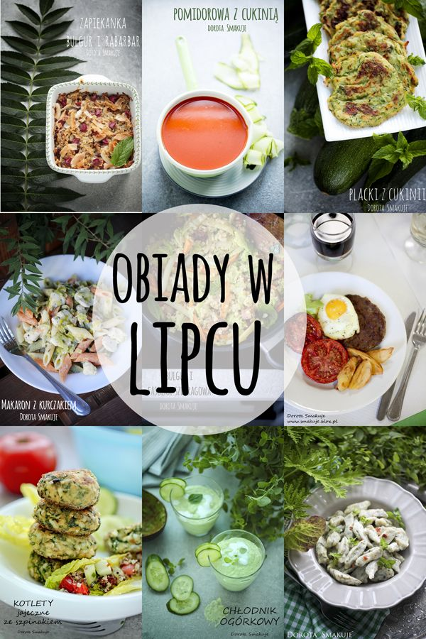 Obiady w Lipcu