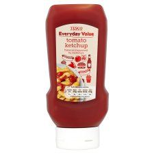 Tesco Everyday Value Tomato Ketchup 590G Bottle - Groceries - Tesco Groceries
