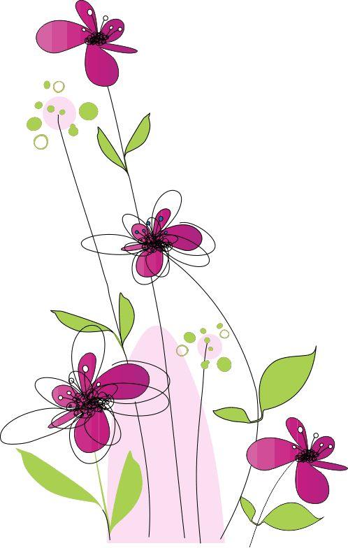 lineas con flores png - Buscar con Google