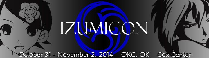 Izumicon held in OKC, OK in early November