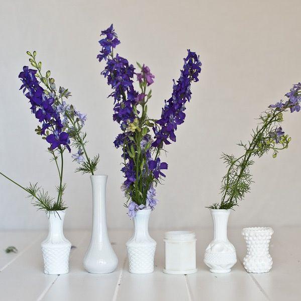 Vintage Milk Glass Vase for cute florals