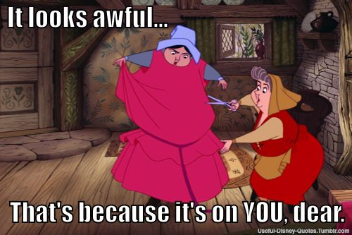 Disney Fashion Police lol Sleeping Beauty