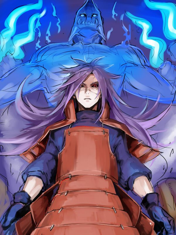Madara Uchiha and his Susano'o #madara #uchiha #susanoo