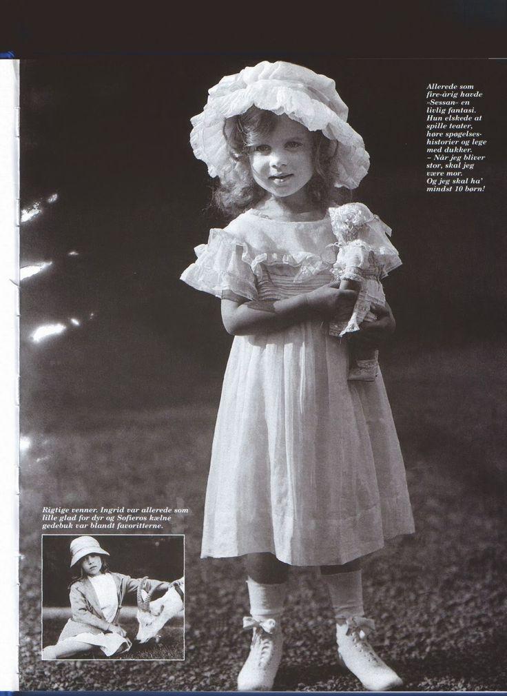 Glucksburg: Princess Ingrid of Sweden - child - Danish Queen