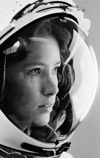 American chemist and NASA astronaut, the first mother in space, Anna Lee Fisher
