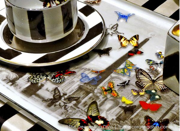 Christian Lacroix Maison Butterfly Tray for Vista Alegre 1824: Butterflies Things, Alegre Butterflies, Vista Alegre, Lacroix Maison, Butterflies Trays, Enchanted Entertainment, Maison Butterflies, Tables Decor, Home Christian Lacroix