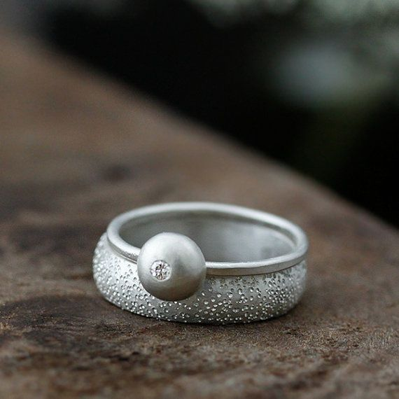 recycled sterling silver stardust and by AndreaBonelliJewelry, $300.00