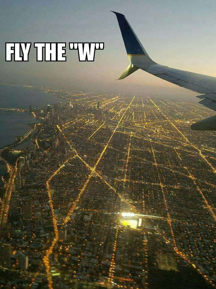 Awesome aerial shot of a lit up Wrigley Field!