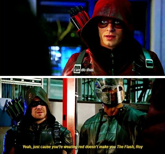 """Even if you trigget the C4 with an arrow, at a distance, you'll still need to outrun the blast radius."" #Arrow #4x12"