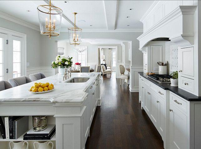 Timeless White Kitchen Reno Paint Bm White Dove Oc 17