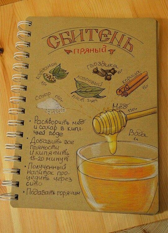 #sketch #drawing #russian #drink #honney #скетч #зарисовка #зарисовки #рецепт